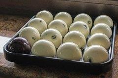 Бильярдные шары в Грин Палас