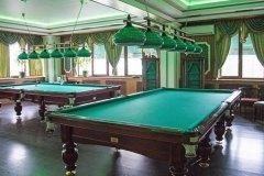Бильярдный зал в ресторане Грин Палас
