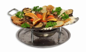 Садж-кебаб овощной пир
